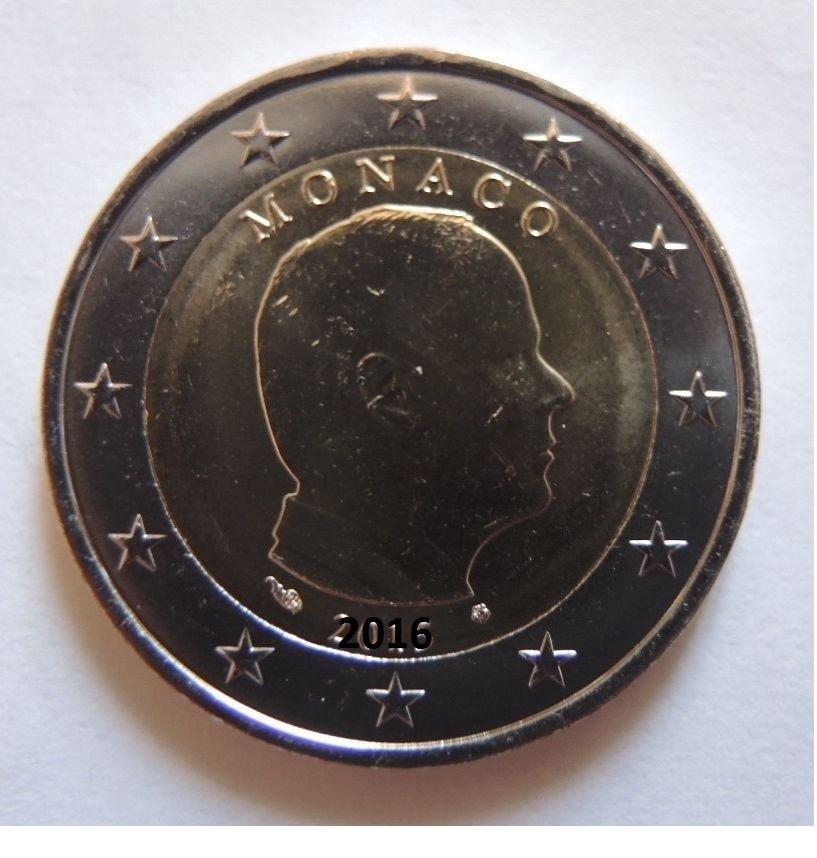 2018 MONACO  - 2 EURO ORDINARIO