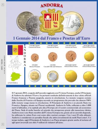 Fogli per seriette e divisionali Euro