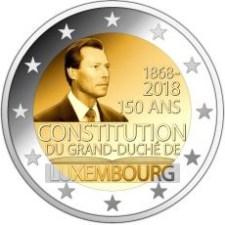 2_euro_commemorativo_lussemburgo_2018_costituzione