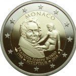 2018- 2 euro Monaco Proof - 250º anniversario della nascita di François Joseph Bosio