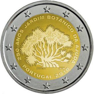 2_euro_commemorativo_portogallo_2018_giardino