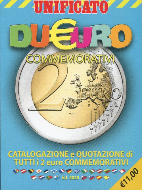 Catalogo UNIFICATO 2 Euro 2020