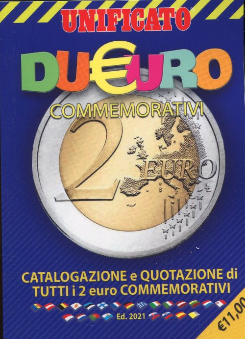 Catalogo UNIFICATO 2 Euro 2021