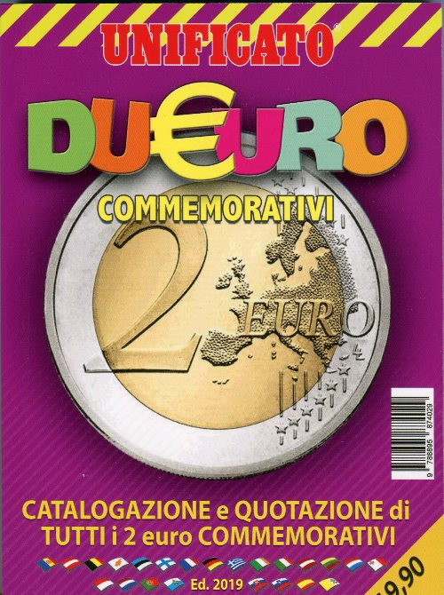 Catalogo UNIFICATO 2 Euro 2019