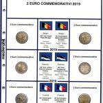 FOGLI PER 2 EURO COMMEMORATIVI - MASTERPHIL