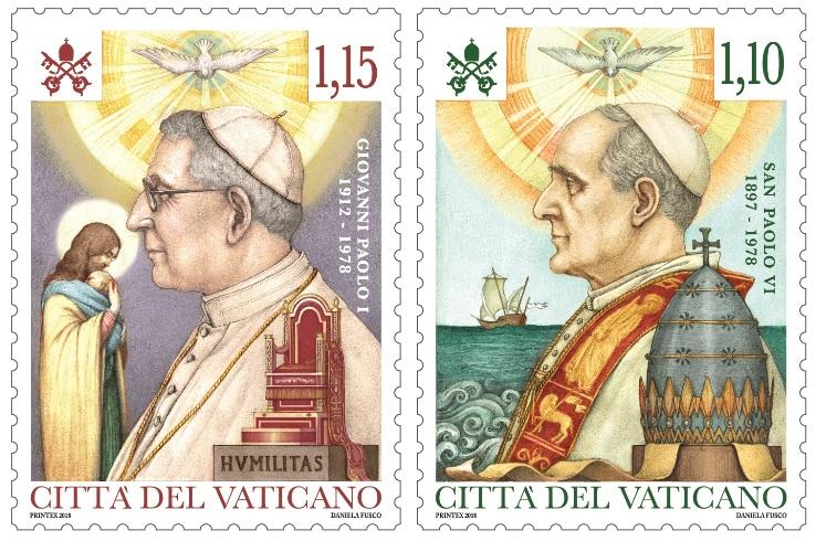 40° Anniversario morte di Paolo VI e Giovanni Paolo I