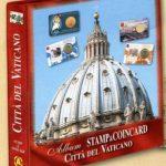 ALBUM EURO VATICANO PER STAMP AND COIN CARD CON FOGLI DAL 2010 AL 2020 - ABAFIL