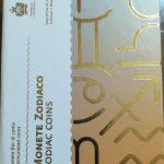 2018 - Cofanetto per contenere le 12 monete Zodiaco