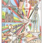 <b> Prevendita</b> - I viaggi di Papa Francesco nel mondo 2017 - Foglietto