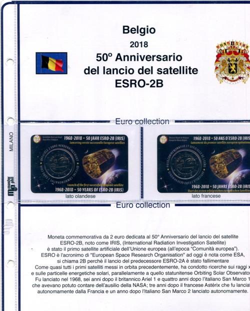 1550a78ed7 FOGLI PER 2 EURO BELGIO IN COIN CARD - MASTERPHIL - RomanPhil