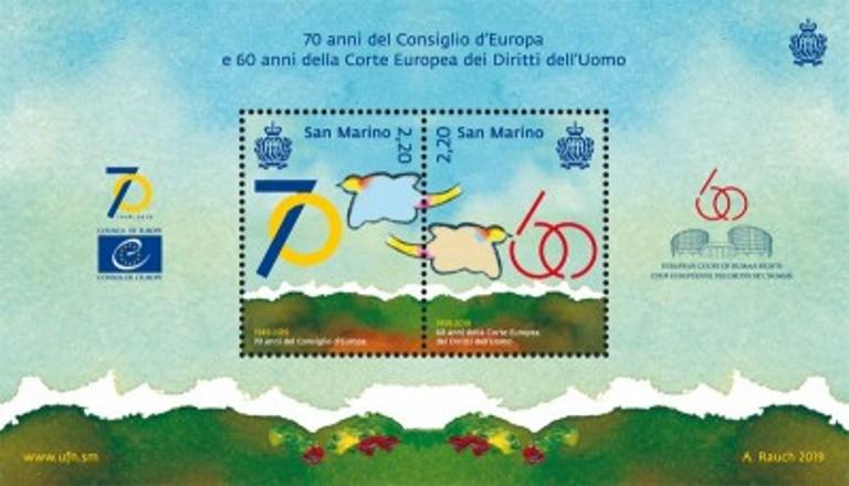 2019 - 7 maggio - 70 anni del Consiglio d'Europa e 60 anni della Corte Europea dei Diritti dell'Uomo