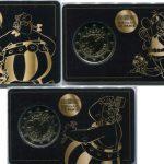 2019 FRANCIA - Asterix - 3 coin card