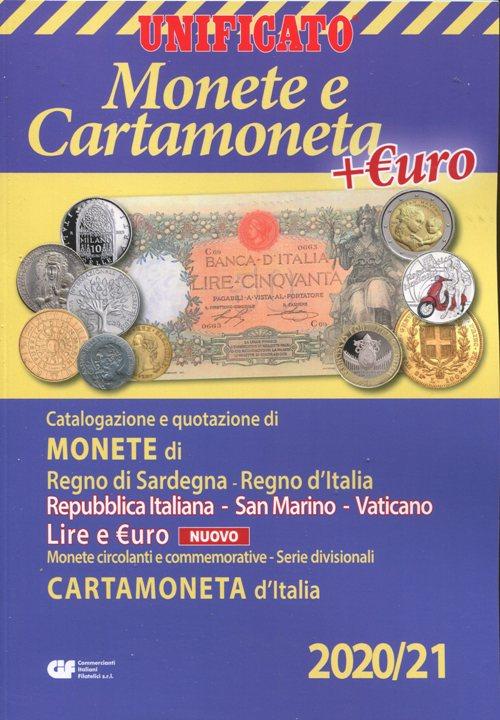 Catalogo UNIFICATO MONETE E CARTAMONETA LIRA ED EURO