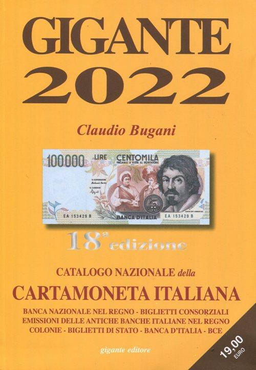 Catalogo GIGANTE Cartamoneta 2022