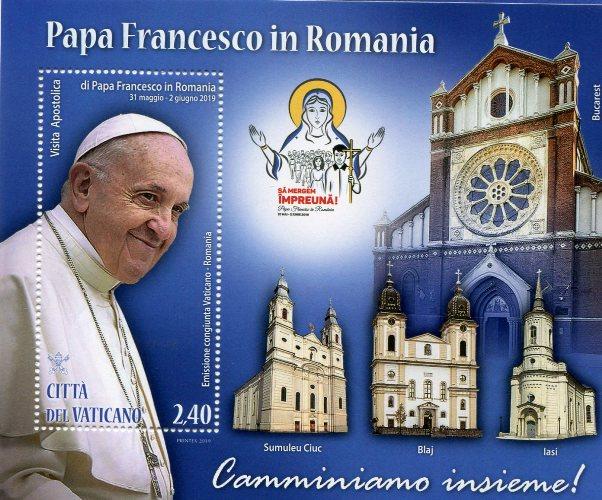 2019 - Papa Francesco in Romania - FOGLIETTO