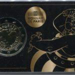 2019 FRANCIA - Asterix -  coin card Obelix