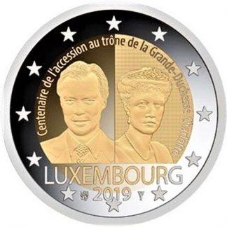 2_euro_commemorativo_lussemburgo_2019_carlotta
