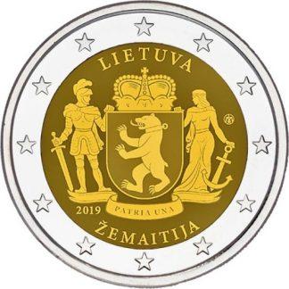 2_euro_commemorativo_lituania_2019_samogizia