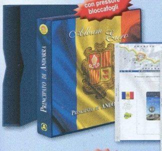 ANDORRA - Album e fogli euro