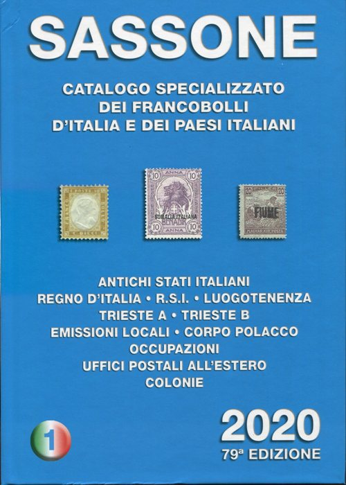 2020- Catalogo SASSONE Vol I