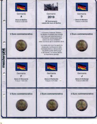 GERMANIA - Album e fogli euro