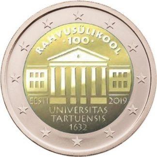 2_euro_commemorativo_estonia_2019_tartu