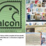 2019 Italia Falcon completo di francobolli, foglietti, libretto ed emissioni congiunte con il Vaticano