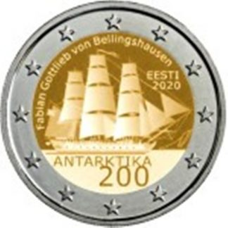 2_euro_commemorativo_estonia_2020_antartide