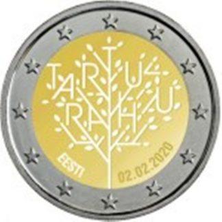 2_euro_commemorativo_estonia_2020_tartu