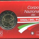 2020 ITALIA  - Vigili del fuoco COIN CARD