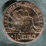 novità - 10 euro in rame in capsula