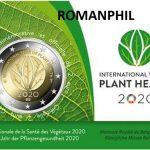 2020 Belgio - Anno internazionale della salute delle piante - doppia versione