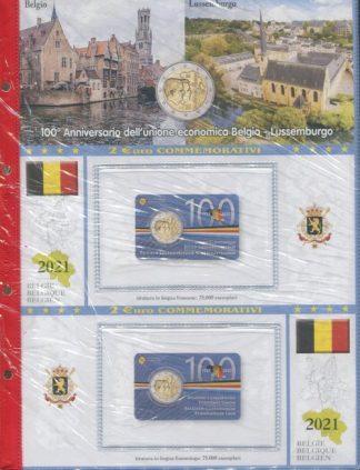 BELGIO - Album e fogli euro