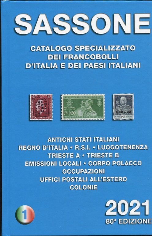 2021- Catalogo SASSONE Vol I