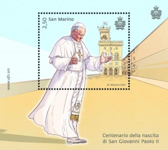 2020 - Centenario della nascita di San Giovanni Paolo II