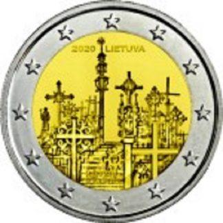 2_euro_commemorativo_lituania_2020_croci