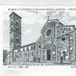 novità 2020 emissione novembre - BASILICA CATTEDRALE DI VOLTERRA - CONGIUNTA  ITALIA