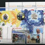 <b>2020 </b>(ANN.CPL) Francobolli Vaticano - Pontificato di Francesco