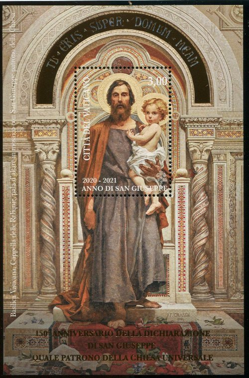 2021 - 150° dichiarazione di San Giuseppe patrono della Chiesa