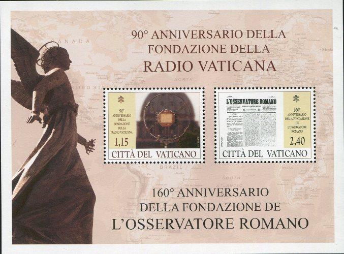 2021 - 90° Fondazione Radio Vaticana