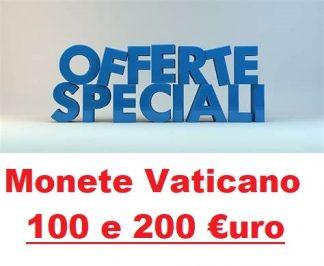 Offerte 100 e 200 euro Vaticano