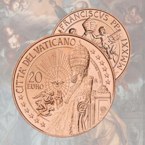 Monete Euro in Rame
