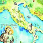 novità 2021 - VIII CENTENARIO DEL CAMMINO DI SANT'ANTONIO DI PADOVA - FOGLIETTO