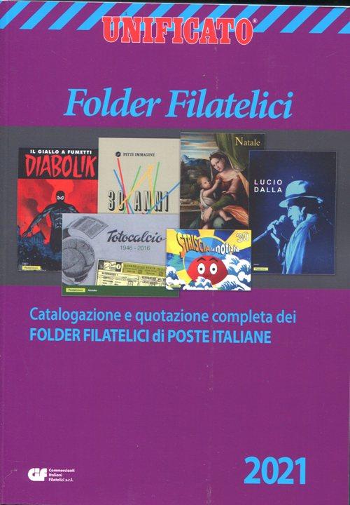 2021- Catalogo Folder Filatelici