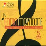 2021 - Ennio Morricone 5 euro Argento